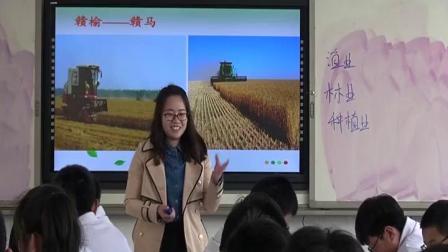 【获奖】人教版初二八年级地理上册第四章第二节 农业-谢老师优质公开课教学视频(配课件教案)