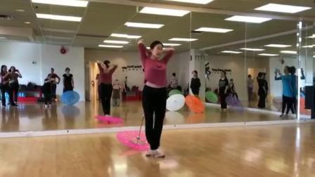 张海燕老师的舞蹈《荷塘月色》