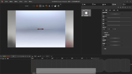 渲染十二生肖兽首模型动画教程