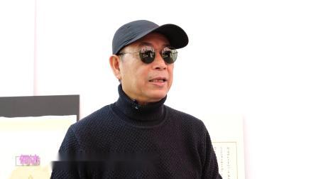 何访:美籍华裔影星画家黄锦江K.K.WONG,解读香港画展《四十不惑》(之一)