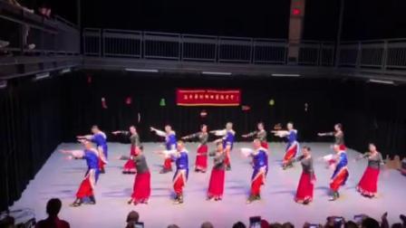 张海燕老师舞蹈《毛主席的光辉》