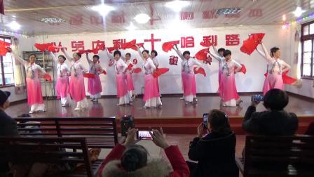 看山 看水  看中华-夕阳美舞蹈队-建西教会庆圣诞-2019-12-22
