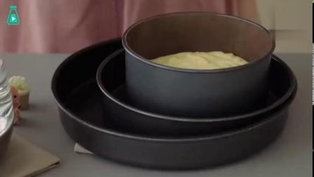 【[话筒]打开声音】制作日式舒芙蕾乳酪蛋糕,声音画面都引起舒适,绵软柔润的蛋糕看着也很诱惑呀[憧憬]   (YTB:Cooking tree...