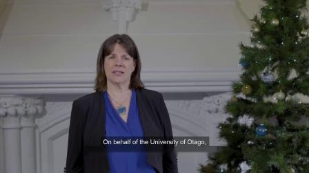 2019年新西兰奥塔哥大学圣诞节祝福