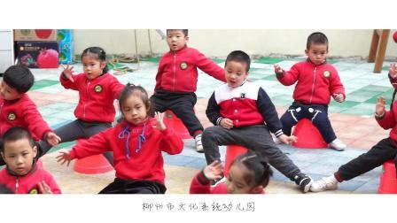 文化系统幼儿园2019《中班课间操》