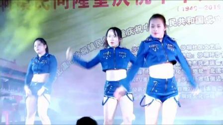 广西北流市沙垌镇民间隆重庆祝中华人民共和国成立7O周年大型文艺晚会下五