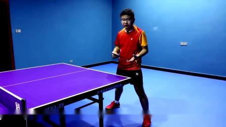反手正确防弧圈球的方法#乒乓球 #乒乓球教学