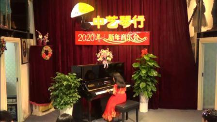 中艺琴行2020年新年音乐会杨睿颖湖上天鹅