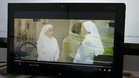 THINKPAD TABLET2 播放1080p之鬼影特攻片段