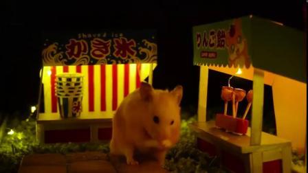 小仓鼠的迷你苹果糖教程!小小一个可爱到犯规!马上圣诞节了,给自家小仓鼠也做一份吧~
