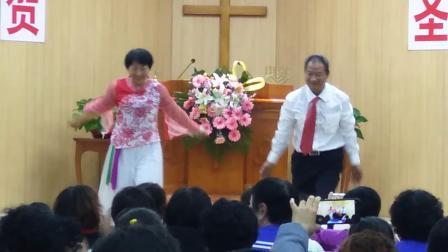 基督教舞蹈(夫妻赞美舞蹈)《天歌唱起来》