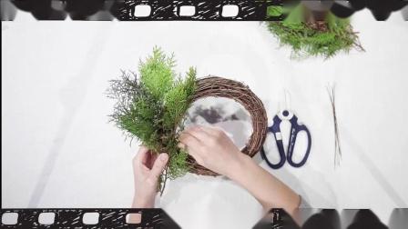 NOWHER DIY 一起来动手做圣诞花环吧!