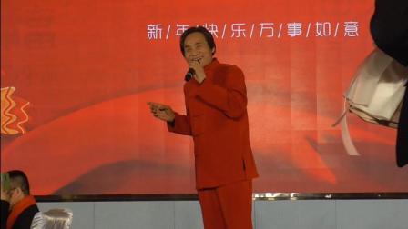 西北歌王王向荣老师回延安参加延安365公益协会2020新春联谊晚会在大会上为延安人民高歌《黄河船夫曲》、《东方红》
