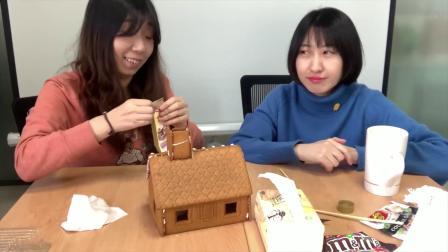 制作宜家姜饼小屋,体味自己做姜饼屋的快乐!