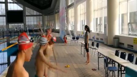 配课件教案 1.八年级体育《自游泳完整动作》四川省优质课 2