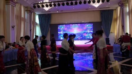 兰州五泉快乐锅庄,兰州五泉锅庄联欢会,五泉锅庄表演的节目。