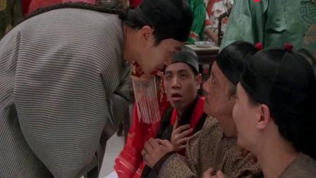 九品芝麻官: 星爷要与雷豹分赃,雷豹却贪得无厌,我全都要!