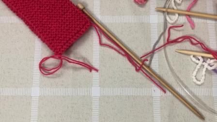 玩偶围巾棒针编织