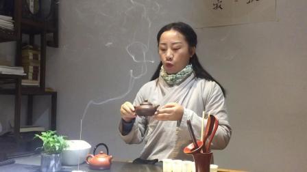 茶艺培训 2019年秀秀书院宏宏师姐瀹茶道茶艺表演