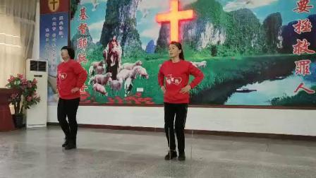 基督教舞蹈  当我赞美
