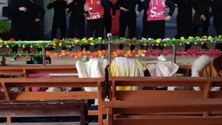 民权县花园教会诗班舞蹈2019