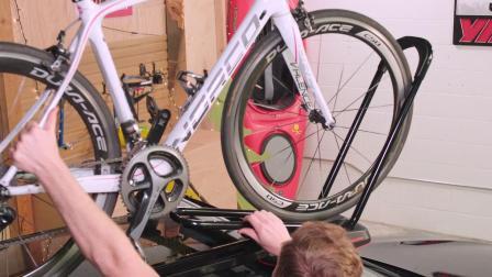 HighRoad Installation 公路 固定前轮式自行车支架安装视频
