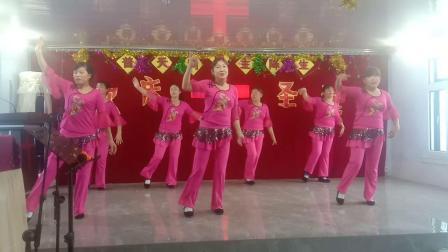 基督教广场舞佟家复兴教会《 把福音传遍四方》