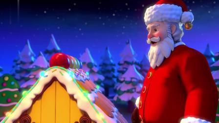 《超级宝贝JOJO》姜饼屋 圣诞老爷爷用魔法帮姜饼屋装扮房子