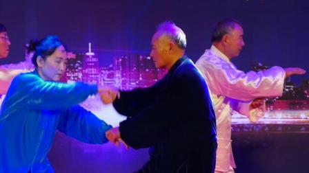 14.男女对练 吴式37拳-表演:沙河左岸站