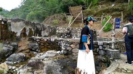 2019.8.12师母,云南竹林深处天然温泉