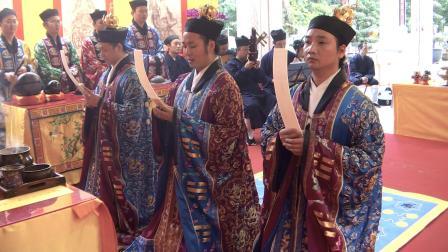香港蓬瀛仙馆庆祝中华人民共和国成立七十周年祈福法会——请圣