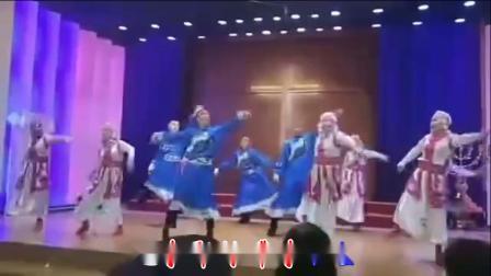 天堂赞歌  藏族舞