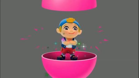 奇趣蛋桥洞游戏 认识颜色 学习英语 婴幼儿早教益智动画玩具