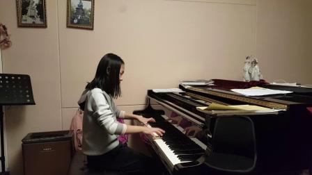 莫扎特c小调奏鸣曲k457 第一乐章