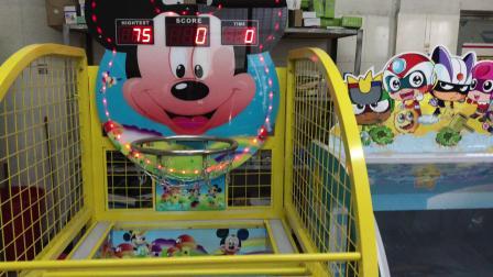 儿童游乐设施篮球机