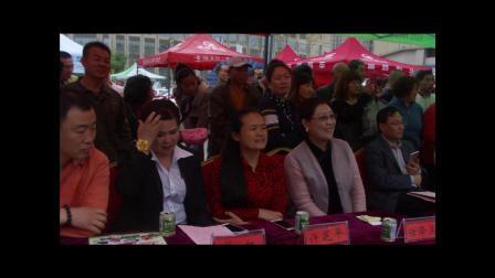 摄影记者编辑制作人许红 主办张贞市政广场荆河公园庆元旦歌舞演出大合唱