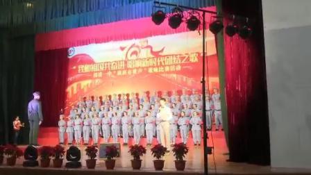福清一中,高一(5)班陈霄隆指挥歌咏比赛二等奖