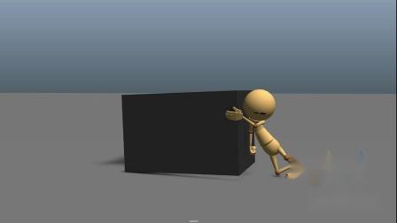 三维影视动画maya软件培训学校 周睿作品展示《推箱子》