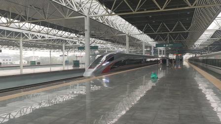 G1156(广州南站-黄冈东站)本务武汉局武汉段CR400AF-2160衡阳东站出站