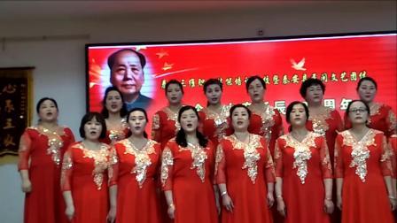 秦安县三维职业技术培训学校暨民众纪念毛诞辰126周年文艺演出