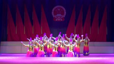 千山文化馆文艺汇演《碟舞天山》 鞍山春芬雪舞艺术团   2019.12.28