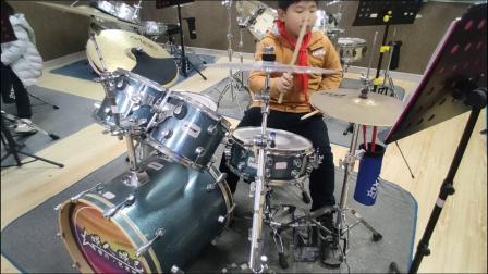 蓬莱架子鼓  《向 往》  狄盛杰  于老师权威架子鼓教学  课堂激情演奏!