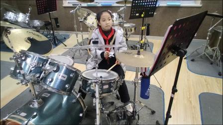 蓬莱架子鼓  《向 往》 张潇月  于老师权威架子鼓教学  课堂激情演奏!
