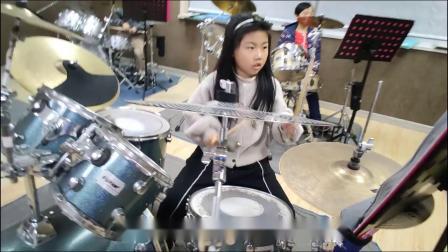 蓬莱架子鼓  《逆 战》  于轶凡  于老师权威架子鼓教学  课堂激情演奏!
