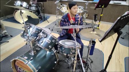 蓬莱架子鼓  《逆 战》   徐子滢  于老师权威架子鼓教学  课堂激情演奏!