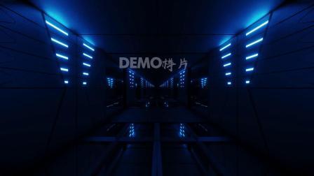 中国风 小学初中 晚会节目 f824 蓝色幽深三维立体空间伤感情歌演唱动感酒吧演艺舞蹈灯光秀晚会演出舞台LED背景视频素材 歌曲配乐视频