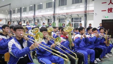 前进中的德惠市中等职业技术学校2020管弦乐队