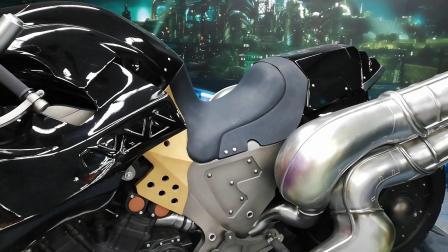 【游民星空】《最终幻想7:重制版》线下活动模型展示