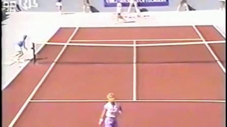 【自制HL】格拉芙VS埃芙特 1989年博卡拉顿决赛
