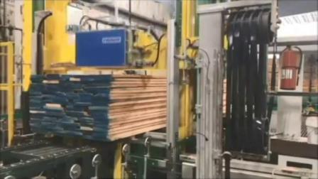 塑钢带全自动打包机(MH610+加压结构+枕木)